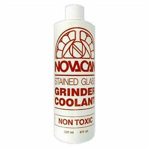 Novacan Grinder Coolant 8 oz Stained Glass Supplies Extend the Life of your bit!