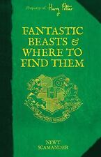 Harry Potter's Schoolbooks: Fantastic Beasts and Where to Find Them by J. K. Rowling (2015, Hardcover)