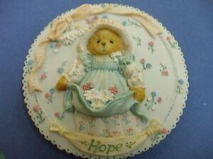 Hope Plaque cherished teddies retired L