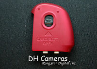 Canon Powershot Sx150 Is Battery Door Cover Authentic Red A0781