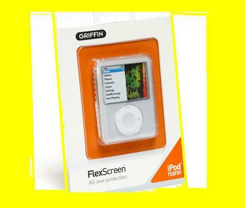 Griffin FlexScreen Clear Case for Apple iPod Nano 3rd Generation