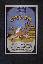 Cream Tour Poster 1969 Rhode Island Last Show Ever