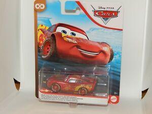 mattel disney pixar cars muddy rust-eze racing center lightning mcqueen