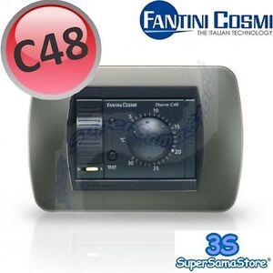 3s termostato ambiente da incasso con rotella c48 fantini