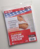 Kleer-fax (23051) Hi-tech 10-tab Custom Index System, 9 X 11 - 5 Sets Of 10 Ta