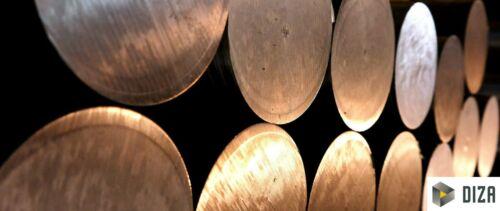 Rundmaterial Edelstahl 1.4571 V4A Ø 50-110 mm Länge 50-350mm Rundstahl