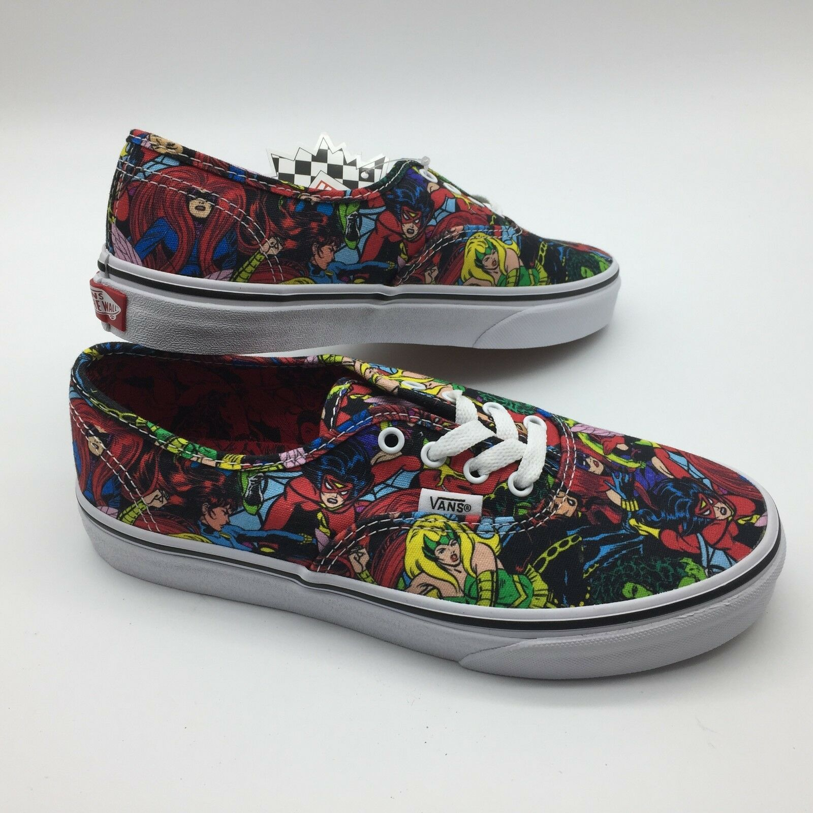 Vans Men Women's shoes's Authentic (Marvel) Multi True White