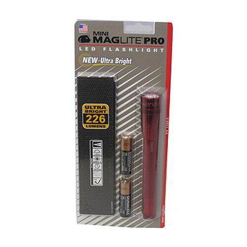 NEW MAGLITE Mini Mag Led Pro Red SP2P03H