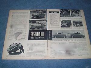 Image Is Loading 1958 Goggomobil Coupe 400 Sedan Vintage Road Test