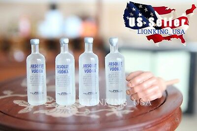 "1//12 Scale Vodka Bottle Alcohol Toy For 12/"" Hot Toys Kumik Phicen Figure U.S.A."