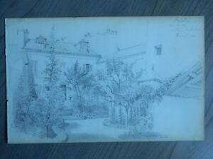 Dibujo-a-Lapiz-Anonymous-Villa-Arquitectura-Set