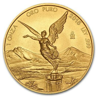 2015 1 oz Gold Mexican Libertad Coin