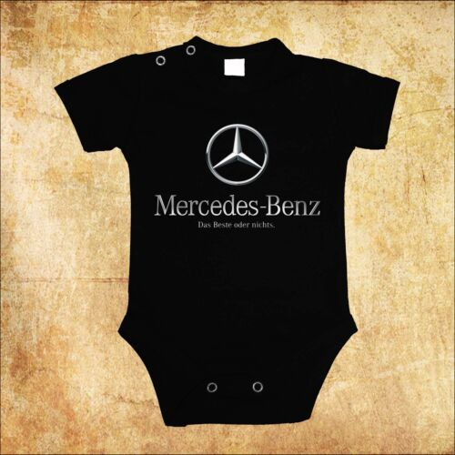 BABY BLACK  BODY MERCEDES BENZ 3 CAR BODYSUIT KURZARM//LANGARM
