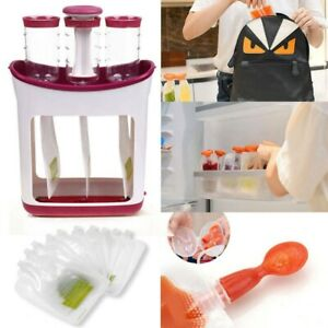 Pouches Homemade Squeeze Infant Baby Food Station Feeding ...