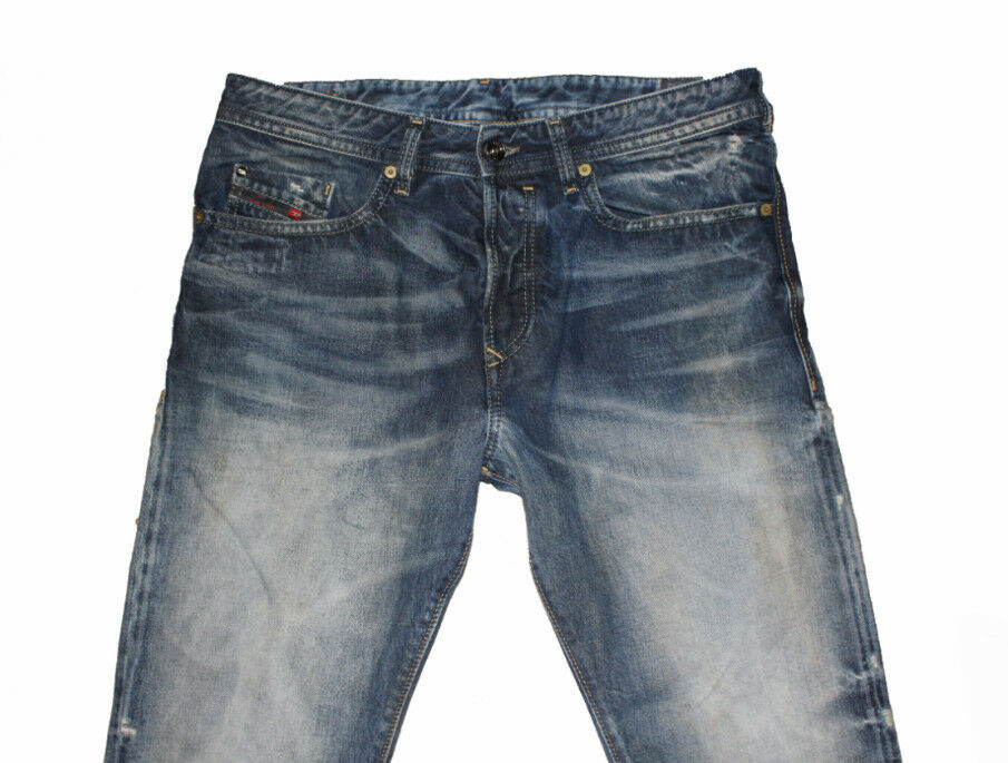 DIESEL BUSTER 0845L SLIM TAPERED JEANS W32 L32 100% AUTHENTIC