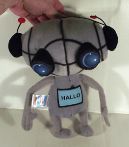 """10"""" Hallo Robot Jouet Doux Zigotec Zigos Klub-afficher Le Titre D'origine 100% De MatéRiaux De Haute Qualité"""