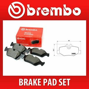 Brembo Rear Brake Pad Set (2 Wheels on 1 Axle) P 50 051 / P50051 - Fits MERC