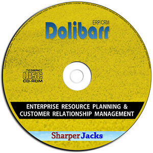 Details about NEW & Fast Ship! Dolibarr Enterprise Resource Planning &  Customer Relations PC