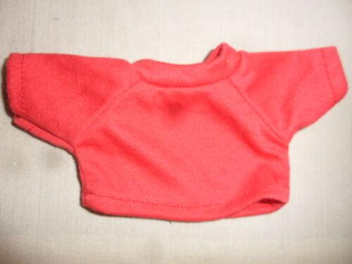NEU: kleines T-Shirt, rot, für ca. 20 cm Bären