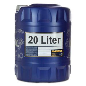 20-1x20-Liter-MANNOL-ATF-AG60-Automatik-Getriebeoel-fuer-VW-G-060162-A1-A2-A6