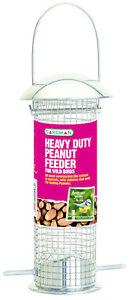 Heavy Duty Gardman Wild Bird Seed et conducteur d'arachide suspendus grand &amp; petit  </span>