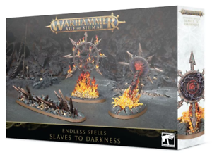 Warhammer Age of Sigmar Slaves to Darkness Endless Spells  83-65