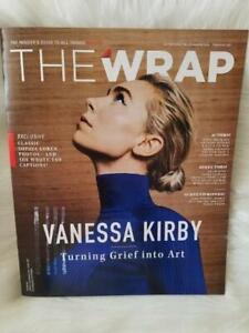 THE WRAP MAGAZINE FEBRUARY 2021 THINGS OSCARS VANESSA KIRBY SOPHIA LOREN MINARI