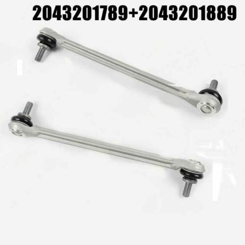 For Mercedes W204 E350 Stabilizer Link Front L+R X2 Sway Bar End Drop 2008-2015