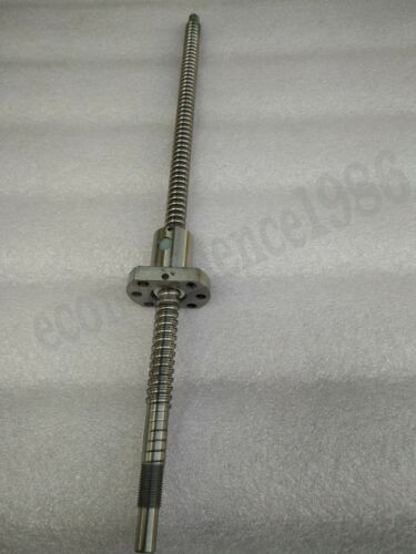 Ant-backlashed Ballscrew RM2505--500mm Ballscrew /& RM2505 Ball  nut/&End Mechined