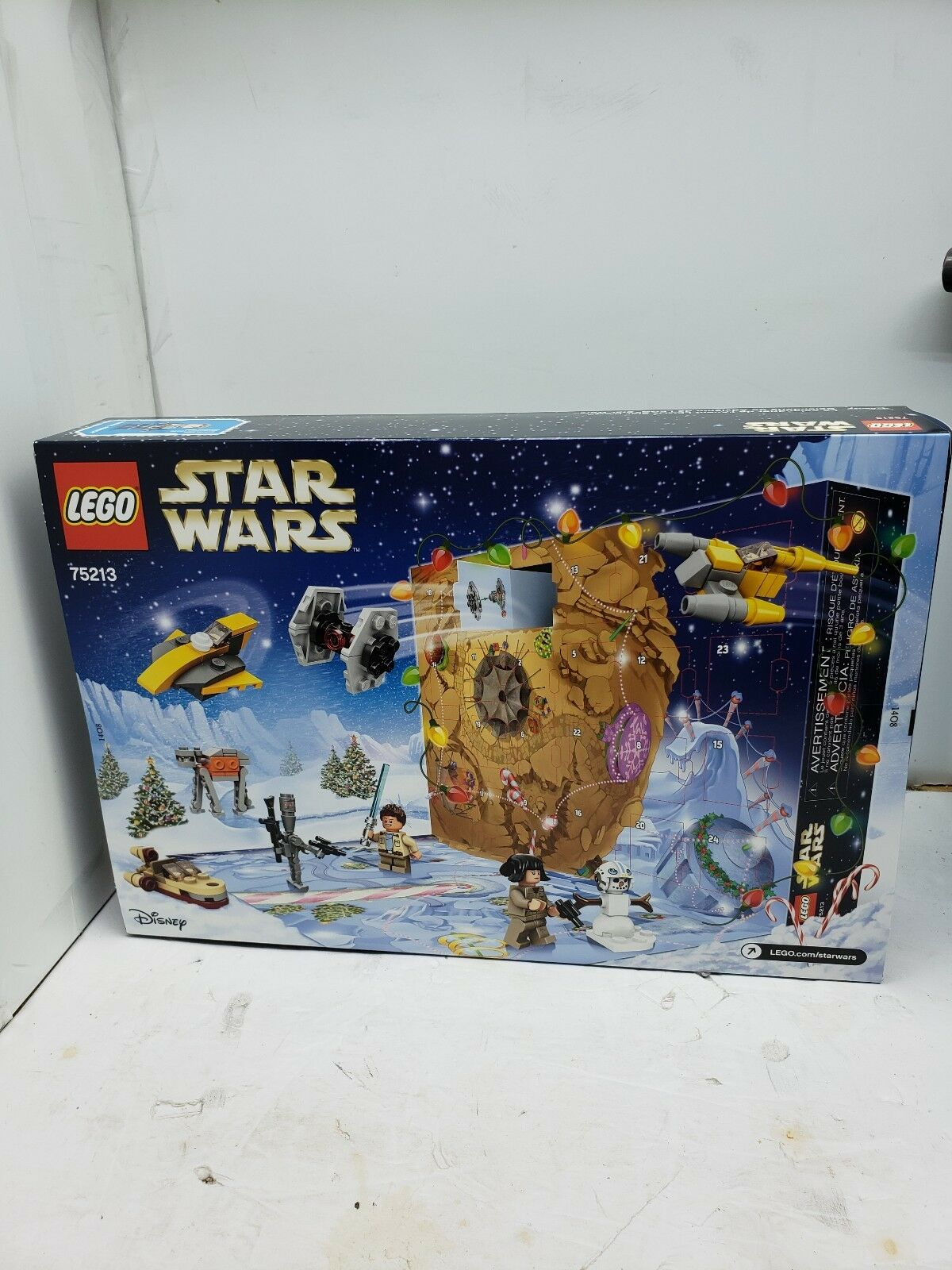 LEGO 75213 Star Wars Advent Calendar 307pcs New in Hand Free Shipping  RARE