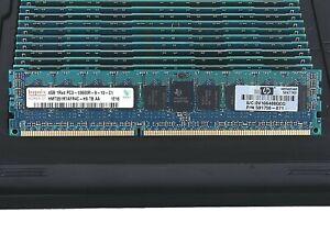 DDR3 PC3-12800R ECC Reg Server Memory RAM for HP Z620 Workstation 64GB 4X16GB