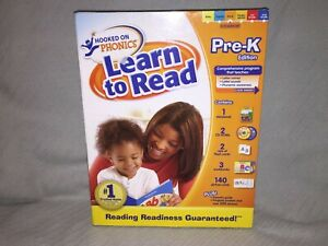 New-Factory-Sealed-Hooked-on-Phonics-Learn-to-Read-Pre-K-Edition-Boxed-Set