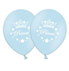 Prince-12-034-Printed-Light-Blue-Latex-Balloons-pack-of-20-by-Party-Decor