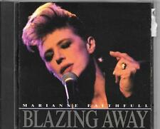 CD ALBUM 10 TITRES--MARIANNE FAITHFULL--BLAZING AWAY--1990