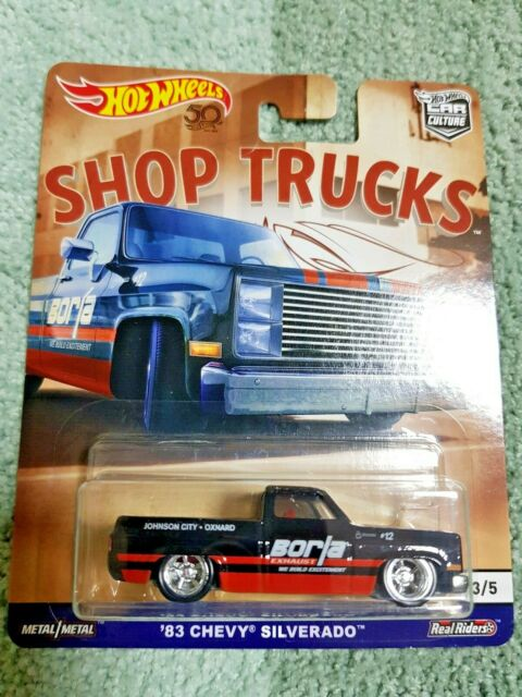 Hot Wheels 2018 Car Culture Shop Trucks '83 Chevy ...