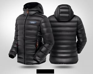best sneakers cdc7b 06c5f Details zu Herren Glänzend Nylon Wet-Look Daunenjacke habiliment  Daunenmantel Sakko Jacket