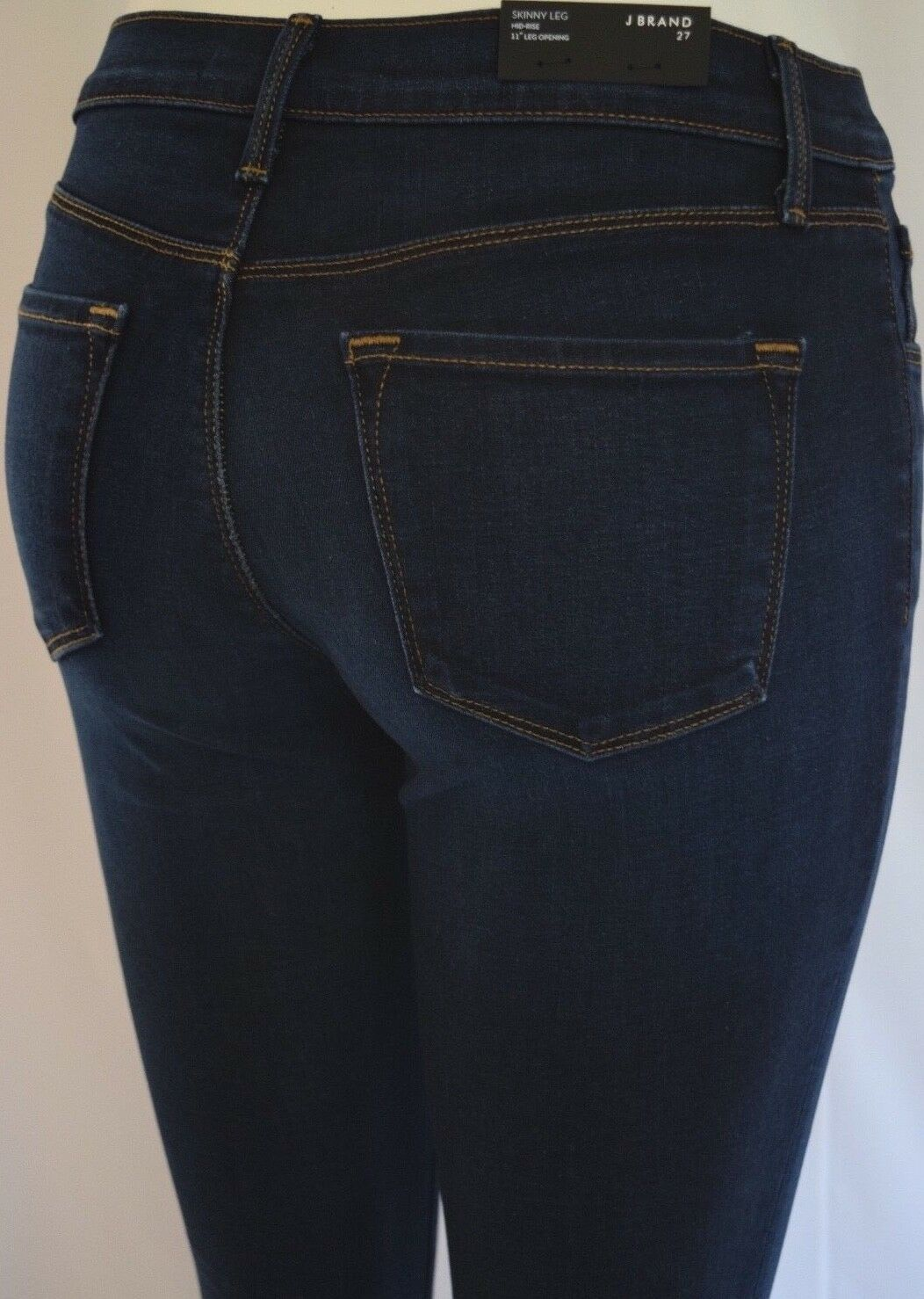 New J BRAND 811 SKINNY Mid Rise Woman Jeans SZ 27 in TERRACE DARK blueE