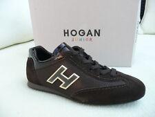 HOGAN by Tod´s Tods Gr 31 Schnürschuhe Sneakers Schuhe braun NEU UVP 149 €