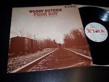 "Woody Guthrie ""Poor Boy"" LP XTRA – XTRA 1065 Uk 1968"