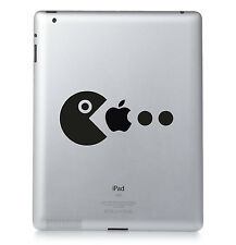 PAC MAN RETRO GAME Apple iPad Macbook Laptop Sticker Vinyl decal. Custom colour