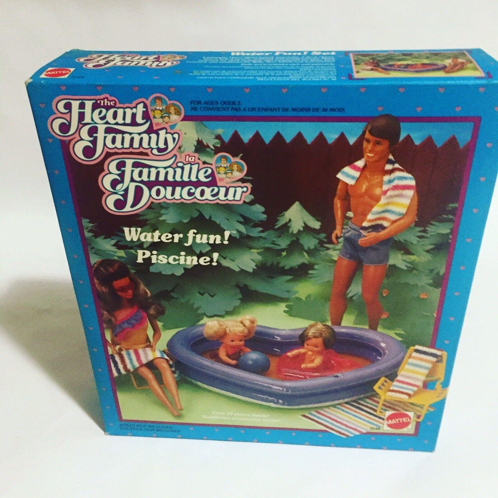 The Heart Family Mattel Water Fun Piscine