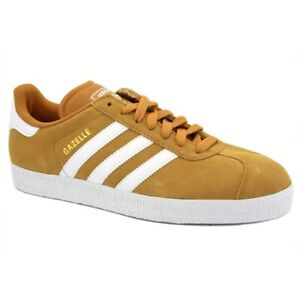 59d59c5dd9 Details about Adidas Gazelle Classic Suede Sneaker size 10 US Men's -  Wheat, White & Gold BNIB