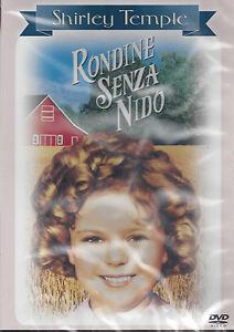 Dvd-RONDINE-SENZA-NIDO-con-Shirley-Temple-nuovo-sigillato-1938