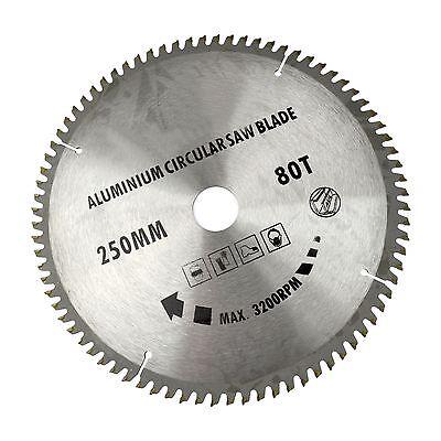 250mm X 30mm Klinge, Scie Tct 80t / Aluminium Scie Rundschreiben Mit Sichtweise
