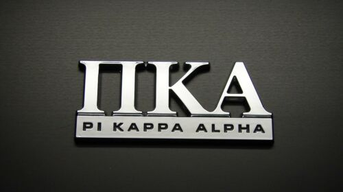 PI KAPPA ALPHA FRATERNITY  CAR EMBLEM STICKER LOGO BADGE DECAL