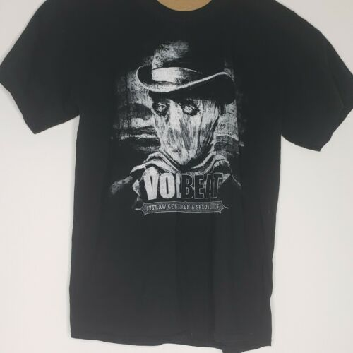 Volbeat Band Shirt 2014 Tour Mens Size Large 2 Sid