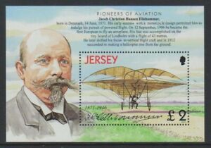 Jersey-2003-Aviation-Histoire-Alimente-Vol-8th-Feuille-MNH-Sg-MS1080