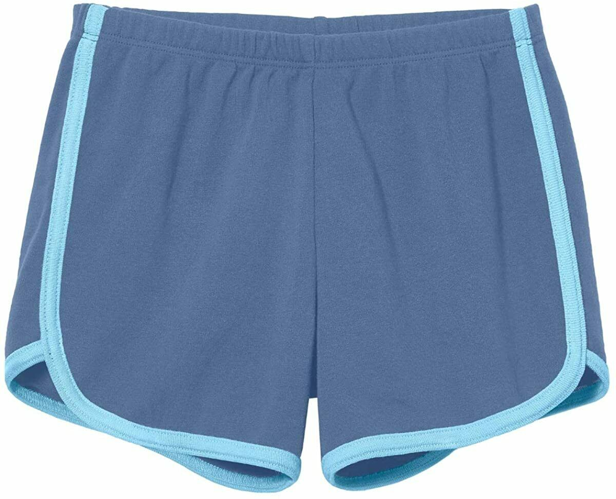 City Threads Girls Running Workout Shorts Yoga Sport Fitness Short 100/% Cotton Made in USA