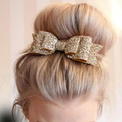 Kids Girls Headband Bow Flower Hair Band Accessories Headwear Elastic Gift aa