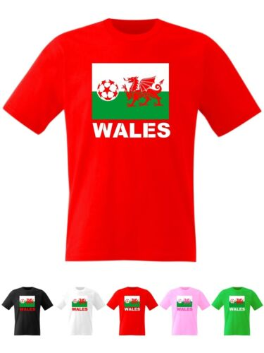Wales football hommes t shirt euro coupe du monde welsh drapeau
